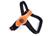Tre Ponti Primo Fluo Hundegeschirr (mit reflektierendem Rand), orange
