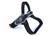 Tre Ponti Primo Fluo Hundegeschirr (mit reflektierendem Rand), schwarz