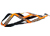 Weltmeisters Dogfood Dogsport X-Back Zuggeschirr, orange