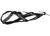 Weltmeisters Dogfood Dogsport X-Back Zuggeschirr, schwarz